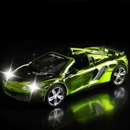 ZAKRLYB Ilimitado Terrain RC Car Charging Control Remoto eléctrico de Alta Velocidad Racing Sports Car Radio Remote Control Racing Cars Drift Racing Car Convertible Car (Color : Verde)