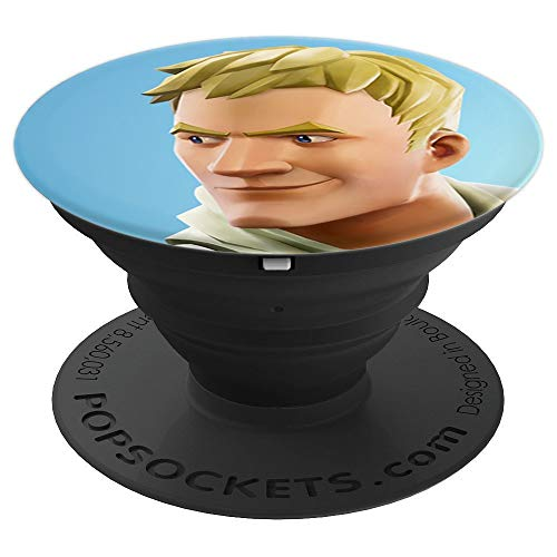 Fortnite Jonesy (Blue) PopSockets Stand for Smartphones and Tablets - PopSockets Grip and Stand for Phones and Tablets
