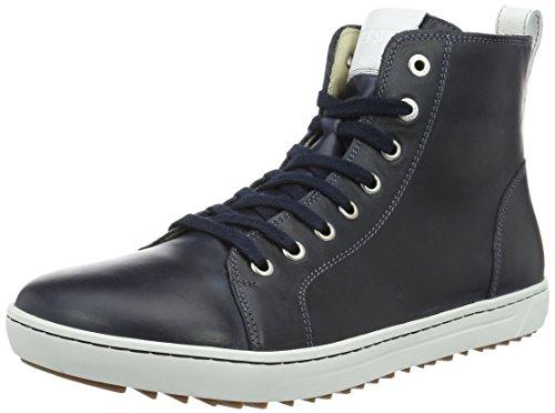 BIRKENSTOCK Herren Bartlett Men Natural Leather High-Top, Blau (Navy), 42 EU
