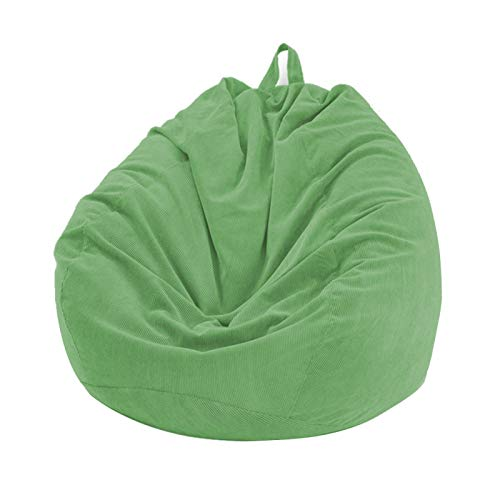Sitzsack aus Cord ohne Füllstoff für Lazy Sofa/Lounger/Spielzeug Aufbewahrung, dicke & weiche Stoffe, Sitzsack DIY gefüllt mit Decken, Schaumstoff für Erwachsene Kinder Wohnzimmer