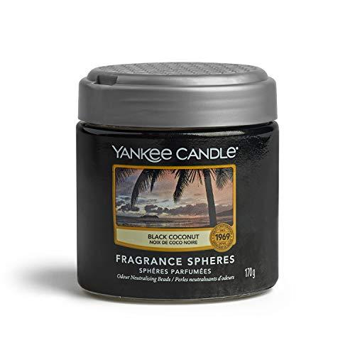 YANKEE CANDLE - Fragrance Spheres Ambientador, Dura hasta 45días, Coco Negro