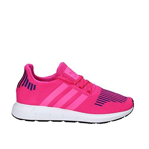 adidas Swift Run J, Zapatillas de Deporte Unisex Adulto, Rosa (Rosimp/Ultpop/Ftwbla), 36 EU