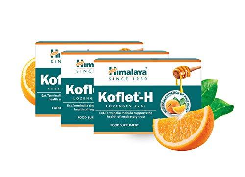Koflet-H Lozenges - Fortified with Honey (Orange, 1-Pack)… (Orange, 3 PACK)