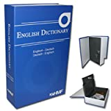HMF 309-05 Buchsafe, Geldkassette getarnt als - English Dictionary 23,5 x 15,5 x 5,5 cm, blau