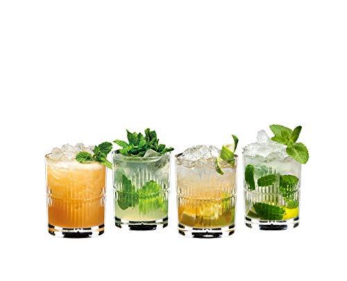 Riedel Mixing Lot de 4 verres à rhum Transparent