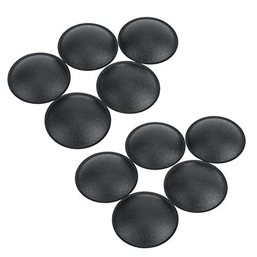 VBESTLIFE 10PCS 55MM Staubschutzkappe mit geringer Elastizität für die Lautsprecherdekoration zum Schutz des Lautsprechers