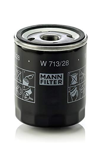 Original MANN-FILTER W 713/28 - Schmierölwechselfilter - für PKW