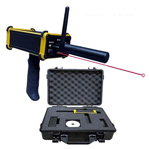 ANLW Black Hawk GR100 Metal Detector Best Laser Pointing Technology Rechargeable Gold Gem Diamond Detectors Long Range 30m Depth