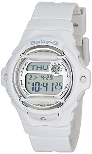 Casio Women's Baby G Quartz Watch with Resin Strap, White, 23.4 (Model: BG-169R-7AM)