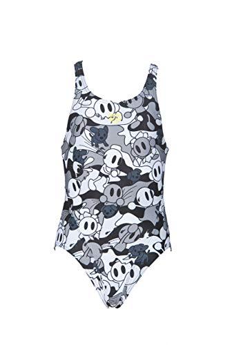 ARENA G Camo Kun Swim Tech Jr L Sport-Badeanzug für Mädchen, Mädchen, 001310, Schwarz, 8-9