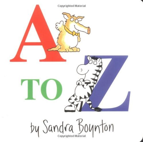 A to Z by Sandra Boynton (1984-10-11)