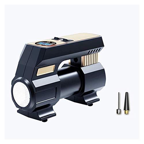 Bomba de inflador de neumáticos del neumático del compresor de aire del compresor de aire del neumático, DC 12V hasta la pantalla LED de la bomba eléctrica digital para vehículos, utilizados para el a