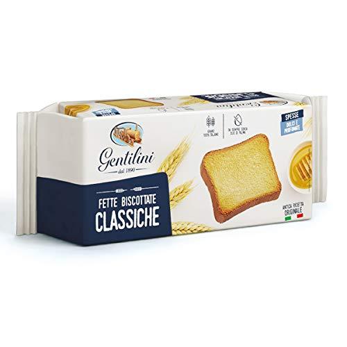 Gentilini Fette Biscottate Classiche Zwieback Backwaren 100% italienisches Produkt 185g