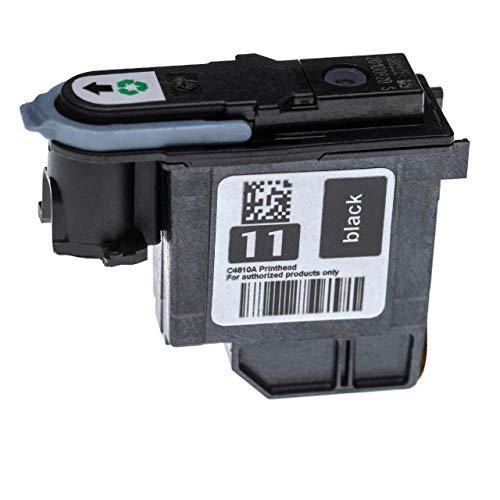 vhbw Cabezal de impresión Compatible con HP DesignJet 100, 100 Plus, 110, 110 Plus, 110 Plus NR, 111, 500, 500 24, 500 42, 500 E Impresora - 8ml Negro