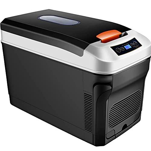 FHKBK Mini Frigorifero per Auto, Frigorifero Portatile con congelatore da 35 Litri, Frigorifero Compatto con refrigerazione Dual-Core 12V   24V   220-240 V, per Auto, Camion, casa