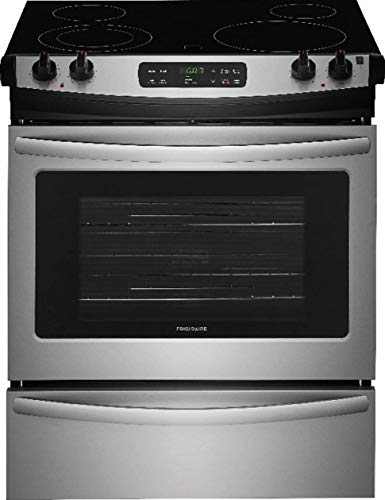 Frigidaire FFES3026TS 30 Inch Slide-in Electric Range with Smoothtop Cooktop in Stainless Steel