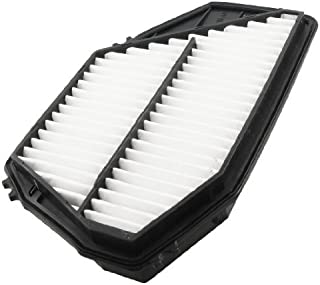 17220-POA-A00 Replacing Car Compressor Pleated Paper Air Filter White