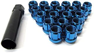 Muteki (Open End Blue 12x 1.25) Super Tuner Nuts Light Weight Wheel Lug Nut