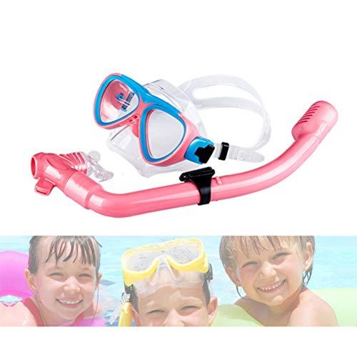 Neborn - Gafas de Buceo con respiración fácil, Tubo de esnórquel seco