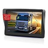 GPS Voiture Auto, 7 Pouces Écran Tactile capacitif Haute luminosité, Cartes d'europe gratuites avec mises à Jour à Vie,GPS Voiture Avertissement de trafic Vocal,Système de Rappel de Limite de Vitesse