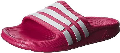 adidas Duramo Slide K, Zapatillas, Rosa/Blanco, 28 EU