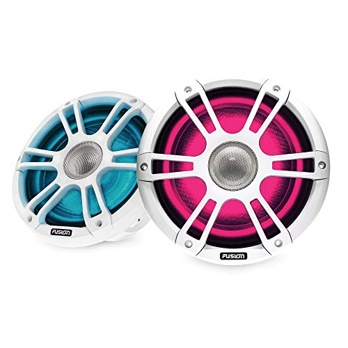 Garmin Fusion Signature Series 3, SG-FL652SPW Sports White 6.5-inch Marine Speakers, with CRGBW LED Lighting, a Brand