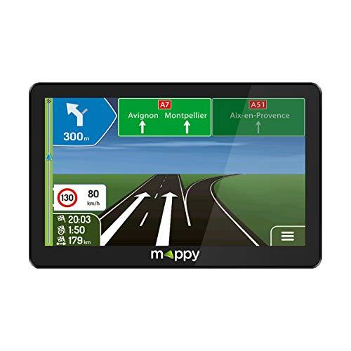 Mapy - GPS Maxi 795 Camp (Pantalla: 7 Pulgadas, 44 países, actualización Gratuita hasta 4 Veces al año), Color Negro