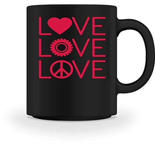 Generisch cool liefde hart tandwiel liefde peace puzzel autisme vrouwen meisjes design - mok