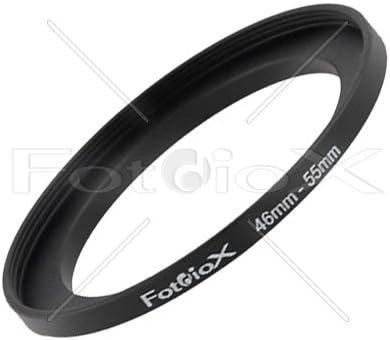 Fotodiox Step Up Ring Aus Eloxiertem Schwarzem Metall Kamera