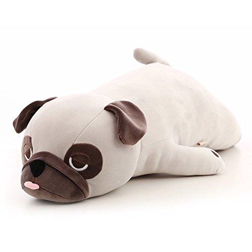 CHICOLY Bagong Down Baumwolle Puppe, Hund Plüschtier, Mops Schlafkissen.