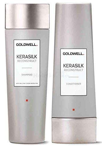 Goldwell Kerasilk Reconstruct Set – Champú 250 ml + acondicionador 200 ml