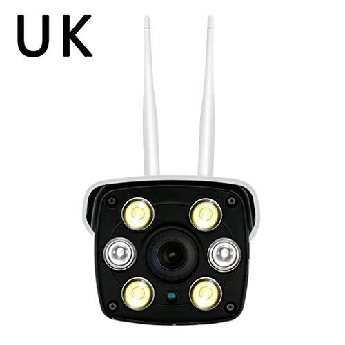 002fr WIFI Remote Monitor 3 milioni per inviare staffa di alimentazione telecamera di sorveglianza bianco UK