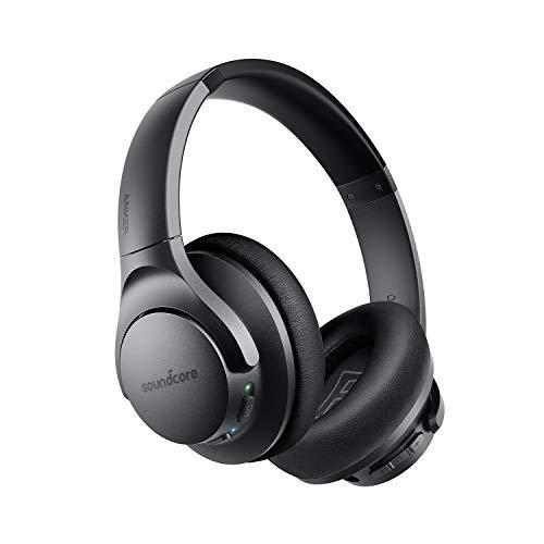 Anker Soundcore Life Q20(Bluetooth5.0 オーバーイヤー型ヘッドホン)【アクティブノイズキャンセリング/ハイレゾ対応(AUX接続時) / 最大40時間音楽再生 / マイク内蔵】ブラック