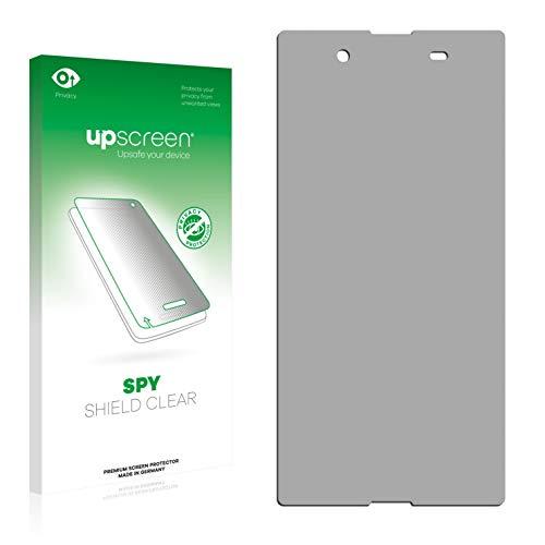 upscreen Anti-Spy Blickschutzfolie kompatibel mit Sony Xperia E3 Dual D2212 Privacy Screen Sichtschutz Bildschirmschutz-Folie