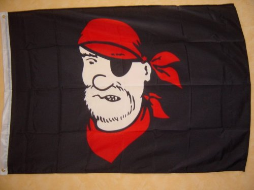Fahnen Flaggen PIRAT STÖRTEBEKER 150 x 90 cm
