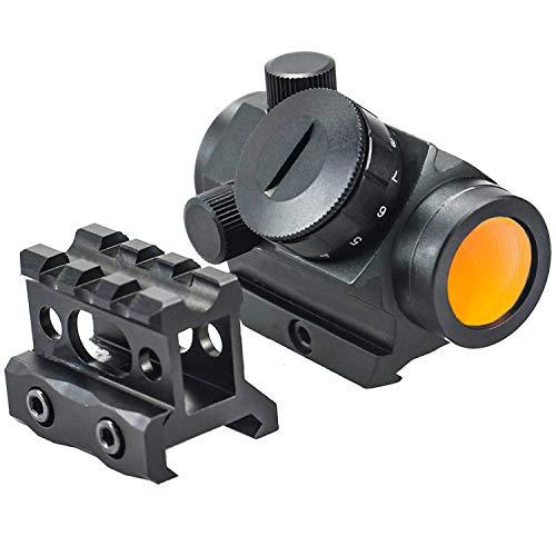 Hauska Tactical Red DOT Sight 1x25 2 MOA 1 inch Height 1 3 co-Witness Mirino Punto Rosso Visore per Caccia & Softair
