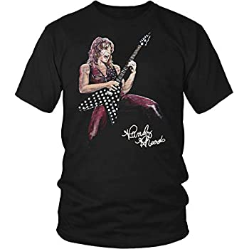 Randy Rhoads And His Guitar With Signature Randy Rhoads Signature Shirt Long Sleeve Crewneck Sweatshirt Hoodie Sweatshirt for Youth Kids Men Women