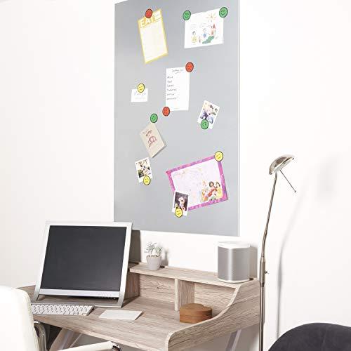 Zilveren huid Magnetisch Whiteboard (75 x 115 cm paneel) Gebruik Portret of Landschap, Wall Mounted Dry Erase Board