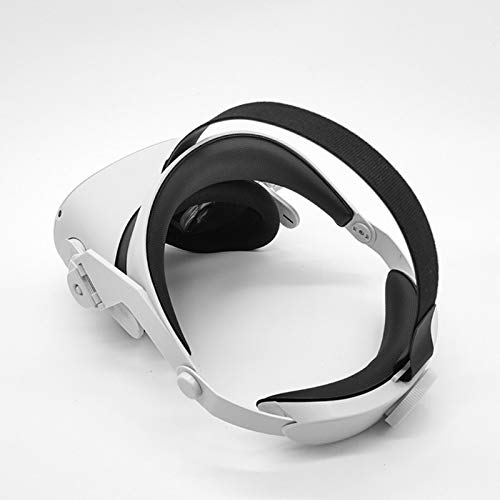 VR Glasses Adjustable Head Strap Headband Belt for Oculus Quest 2 Headset Accessories,Elite Strap Comfortable Touch Headstrap