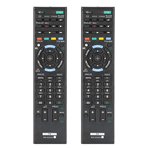 Weikeya Real televisor Remoto Control, Televisión Universal Cable 2 X AAA (no Incluido) Servicio La Vida Vocero Modelo Abdominales por Sony Remoto Control