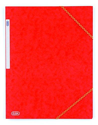 Carpetas Carton Gomas Marca Elba