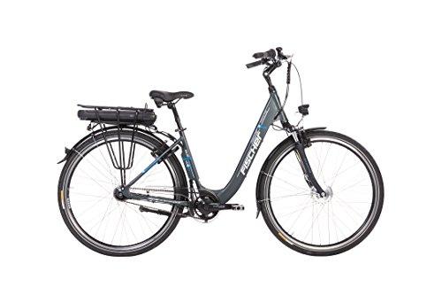 Fischer E-Bike City ECU 1401, anthrazit, 28 Zoll, RH 44 cm, Frontmotor 20 Nm, 36 V Akku