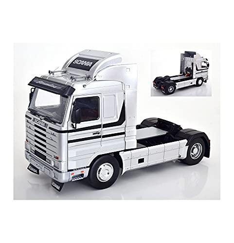 new SCANIA 143 STREAMLINE 1992 SILVER/BLACK 1:18 - KK Scale - Camion - Die Cast - Modellismo