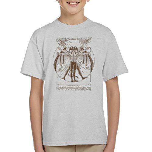Vitruvian Devil Devilman Crybaby Kid's T-Shirt