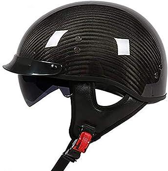 Best carbon fiber half helmet Reviews