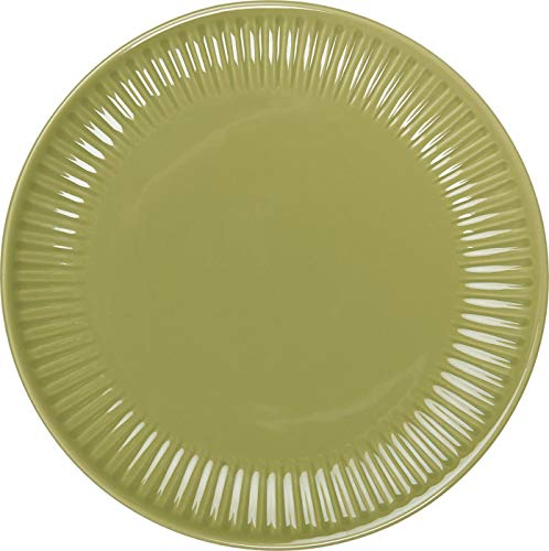 IB Laursen Plato de desayuno Mynte Herbal Green (19,5 cm), color verde