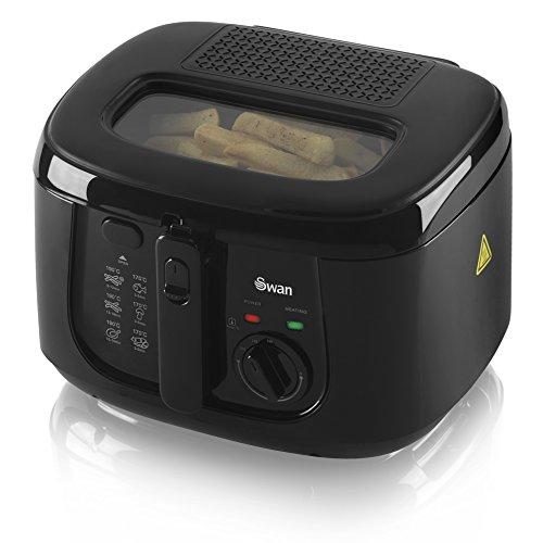 Swan 2.5 Litre Deep Fat Fryer with Viewing Window, Adjustable temperature...