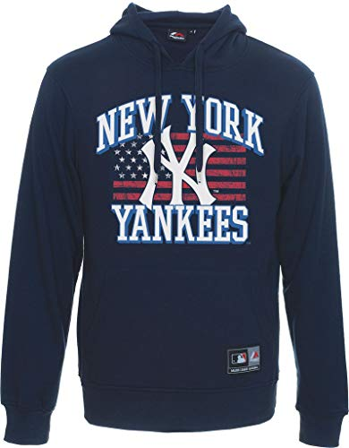 NY Yankees Formont MLB Overhead Sudadera con capucha - XS