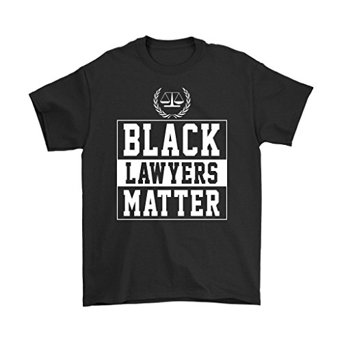 Lawyer T-Shirt - Black Lawyers Matter - Unisex Funny Gift for Men, Women, Lawyer, Attorney L.11.6 Short-Sleeve Tank Tops