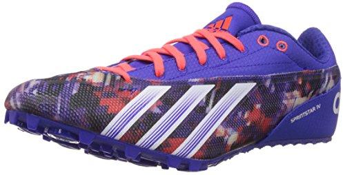 adidas Sprintstar 4 Scarpa Chiodi da Running Uomo, Porpora, 46 2/3